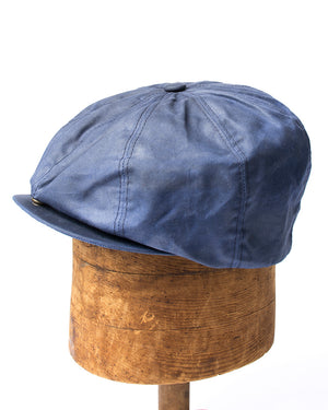Bruce Cap | Navy Waxed Cotton