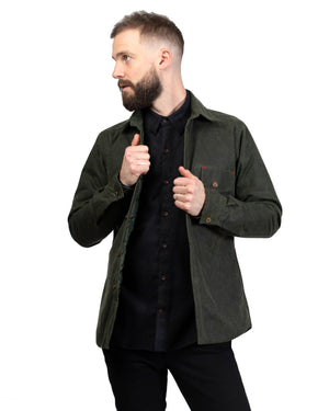 Weekender Jacket | Dark Olive Waxed Cotton
