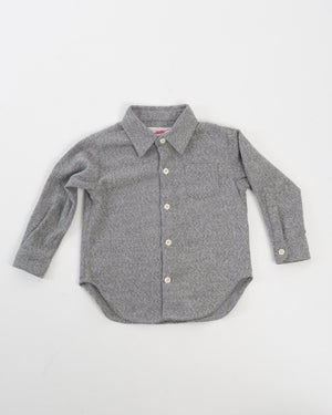 Hopper Shirt Long Sleeve | Soft Grey