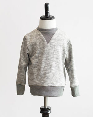 Crew Sweatshirt | Grey French Terry