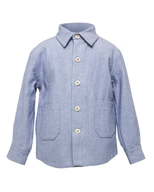 Kids Light Denim Jacket - front