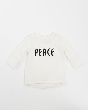Kids Long Sleeve T-Shirt - Peace Front
