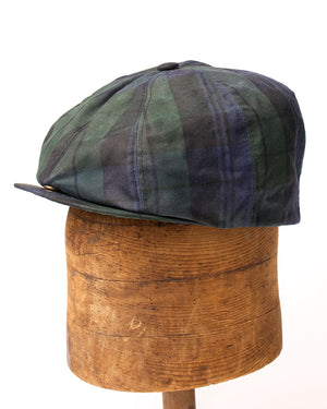 Bruce Cap | Plaid Waxed Cotton