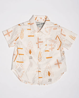 Cotton short sleeve southwest shirt