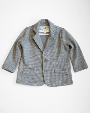 Huckleberry Blazer | Charcoal Diamonds