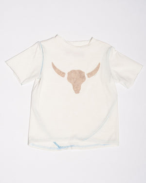 Cotton Cow Skull Tee