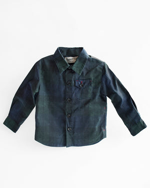 Weekender Jacket | Black Plaid Waxed Cotton