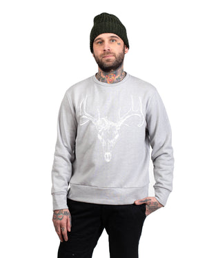 Crew Sweater | Shadow Buck