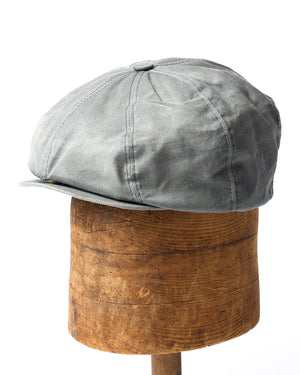 Bruce Cap | Charcoal Waxed Cotton
