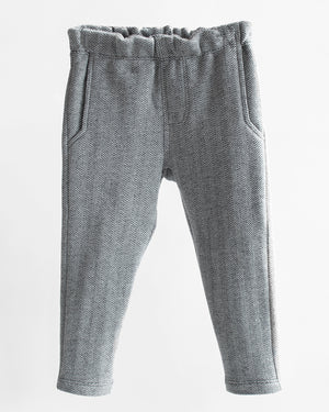 Jackrabbit Trouser | Charcoal Mix Herringbone