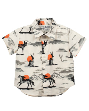 Short Sleeve Shirt | Wild Horses