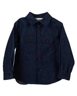 Weekender Jacket | Raw Indigo Denim