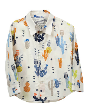 Long Sleeve Shirt | Summer Owls