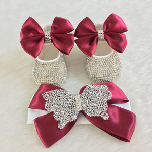 Zircon Baby Shoes