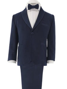 Dark Blue Suit - Chikids Fashion