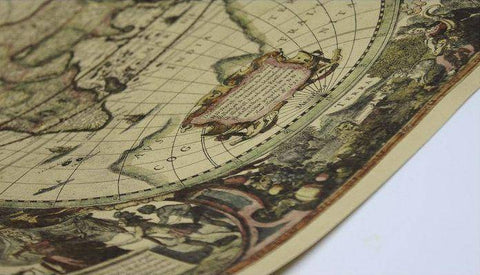 1641 Nautical Chart Map