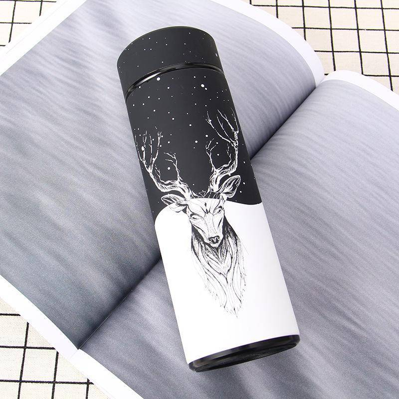 Vacuum Bottle with Awesome Custom Art