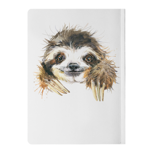 Happy Sloth | Paperback Journal