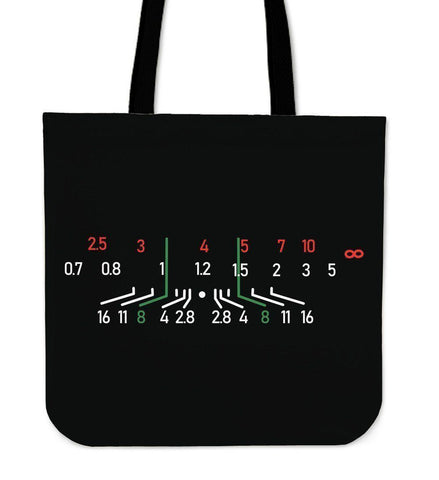 Custom Photographer Designs on Premium Totes Tote Bag Focal Black