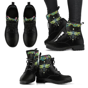 Dragonfly Handcrafted Boots