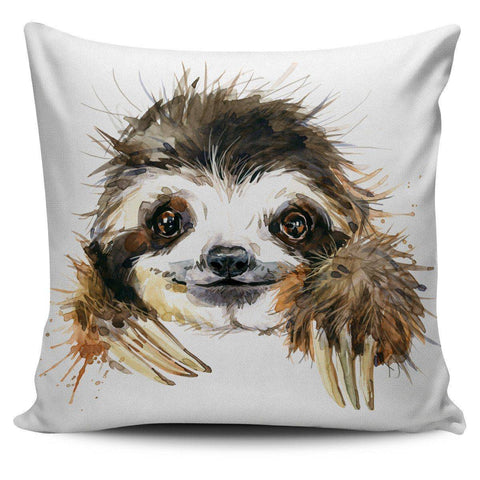 Cute Sloth Pillow Cover Cute Sloth Pillow Cover
