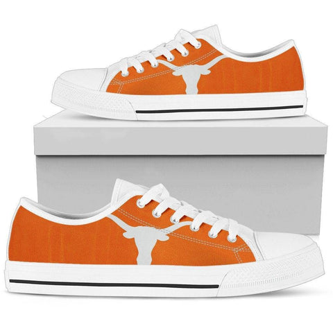 Texas, Need we say more? Mens Low Top - White - Texas US5 (EU38)