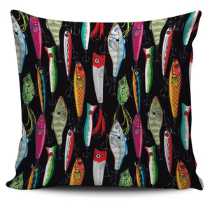 Fishing Lure Pillow Case V.2 Pillow Case Large