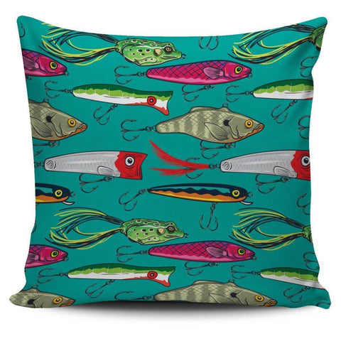 Fishing Lure Pillow Covers V.1 Pillow Case Large Print
