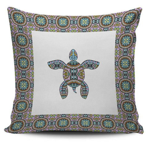 Cool Tribal Sea Turtle Pillow Covers V.1