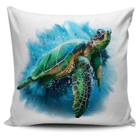 Image of Awesome Turtle Art Pillow Covers Pillow Case Turtle 2