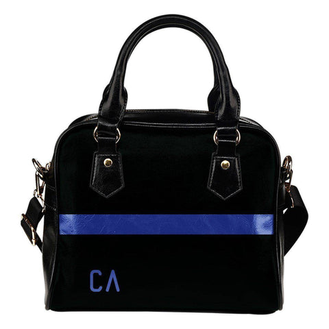 Image of Premium Thin Blue Line Hand Bag Thin Blue Line California