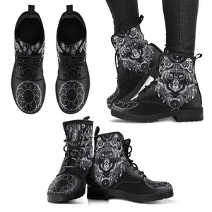 Boho Wolf Handcrafted Boots Boots