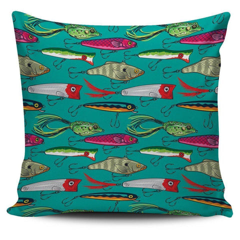 Fishing Lure Pillow Covers V.1 Pillow Case Small Print