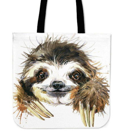 Image of Premium Sloth Tote Bags Cute Sloth