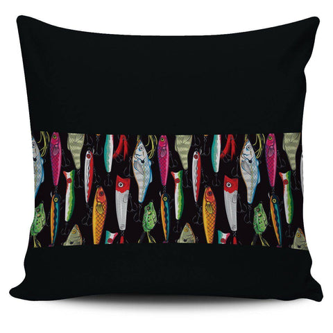 Image of Fishing Lure Pillow Case V.2 Pillow Case Mid Stripe
