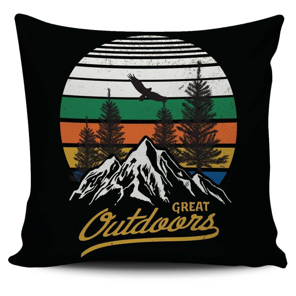 Great Outdoors Pillow Cover