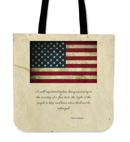 Epic 2nd Amendment Tote Bag.  Share Your Views.