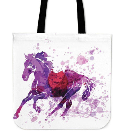 Image of Wild Horse Canvas Tote Wild Horse Left