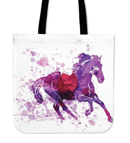 Image of Wild Horse Canvas Tote Wild Horse Right