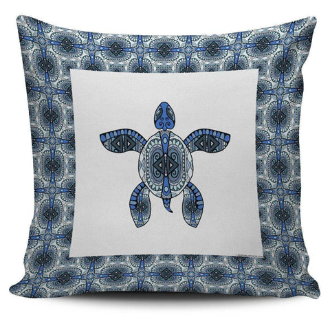 Image of Cool Tribal Sea Turtle Pillow Covers V.2