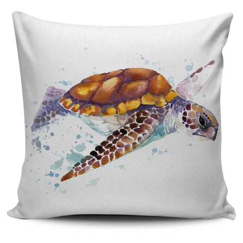 Image of Awesome Turtle Art Pillow Covers Pillow Case Turtle 3