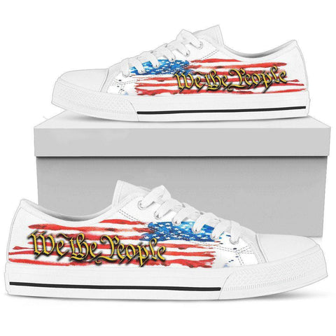 Image of We The People | Canvas Low Top Shoes Shoes Womens Low Top - White - We The People US5.5 (EU36)