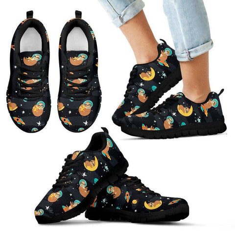 Space Sloth Sneakers Sneakers Kid's Sneakers - Black - Kid 11 CHILD (EU28)