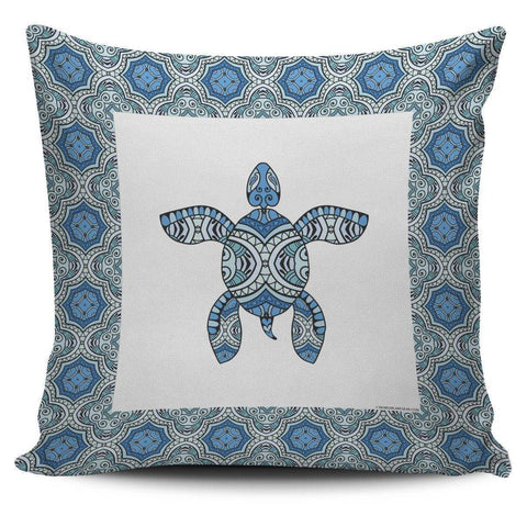 Image of Cool Tribal Sea Turtle Pillow Covers V.3