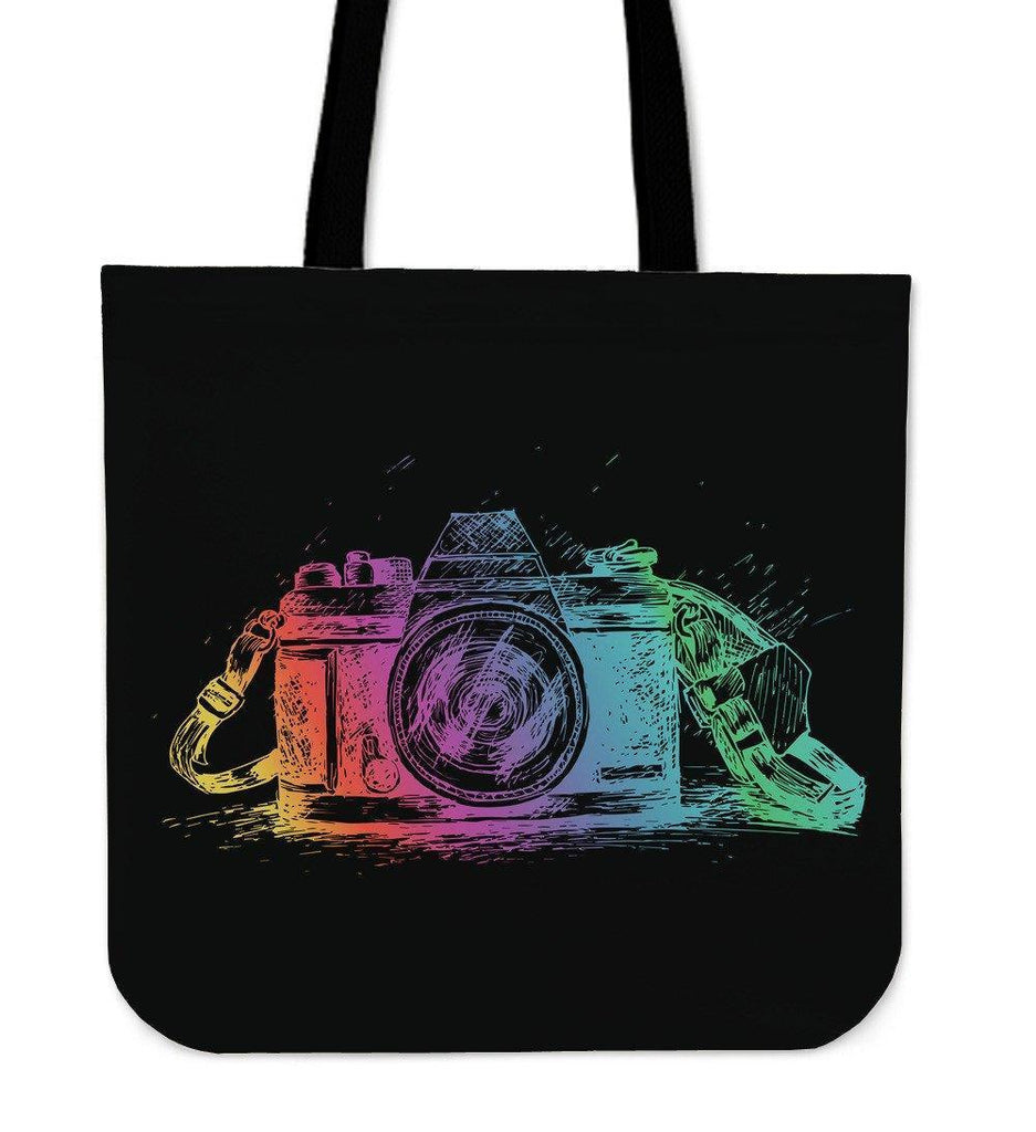 Custom Photographer Designs on Premium Totes Tote Bag Colorful