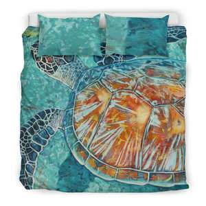 Image of Turtle Bedding Set Bedding Set King