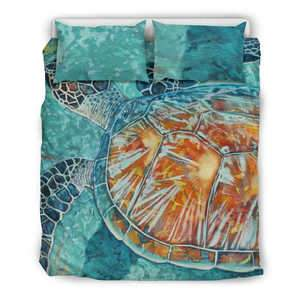Turtle Bedding Set Bedding Set Queen/Full