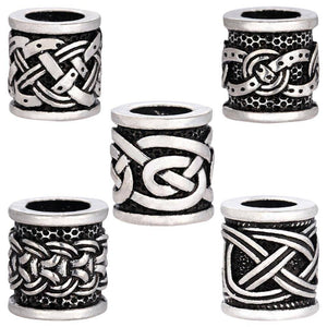 Vikings Antique Silver Beads