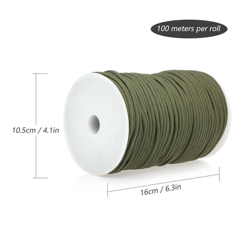 100M 550 Military Standard 9 Core Paracord Paracord