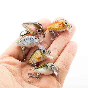 15 PCS Crank Bait Set | Best Bass Fishing Lures Fishing Lures